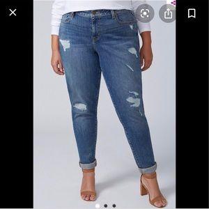 Lane Bryant boyfriend jeans size 16